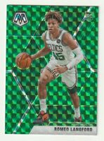 2019-20 Panini Mosaic Prizm Green Romeo Langford Boston Celtics Rookie RC SP