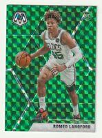 2019-20 Panini Mosaic Prizm Green Romeo Langford Boston Celtics Rookie RC SP