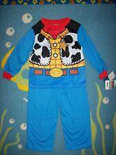 Toy Story and Beyond Pajamas Disney Pixar 2pc Set 3X Sheriff Woody Cow Print