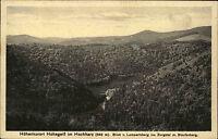 Hohegeiß Hochharz Harz s/w AK ~1920/30 Blick vom Lampertsberg ins Zorge Tal Berg