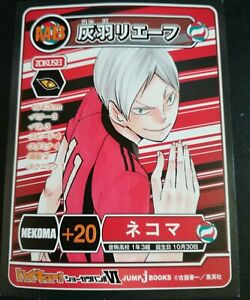 Haikyu Haikyuu Card【 Not sold at the store 】9.5cm × 7.3cm New From Japan