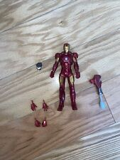"Marvel Legends Iron man 2 Movie Series 6"" Mark IV Tony Stark Walmart Exclusive"