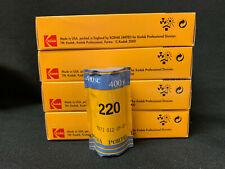 Kodak Professional Portra 400 NC 220 4 Pro Packs Expired Kept Cooled