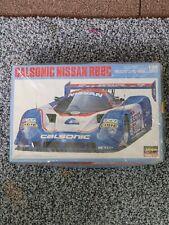 Hasegawa Calsonic Nissan R89C Race Car 1:24 Scale Plastic Model Kit 20245 open