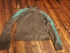 Womens  Adidas Zipped Tracksuit Top - Size Medium size 14