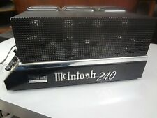 McIntosh 240 Stereo Power Amplifier -- Good Condition