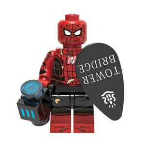 Spider-Man Tower Bridge London Marvel Superhero Mini Action Figure Toy Lego Moc