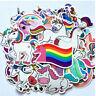 50 Sexy Einhorn Unicorn Stickerbomb Retrostickern Aufkleber Sticker Mix Decals c
