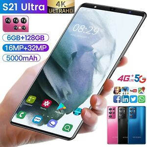 S21 Ultra 5.0 Inch 8gb 256gb Face Unlock 4G LTE 5G Global Version android