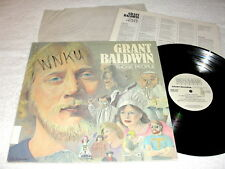 "Grant Baldwin ""Those People"" 1985 Folk/ Pop LP, Nice EX!,+Insert"
