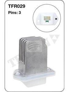 Tridon Heater Fan Resistor For Subaru Impreza Gd Gg 3 Pin (TFR029)