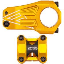 Azonic Pleasure Dome voladizo 50mm 31,8mm 200g MTB enduro downhill Dirt Jump Gold