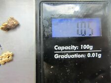 Alaska gold nuggets 1.05 + grams very nice Alaskan river gold.