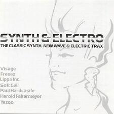 Doppel CD Album Sampler Synth & Electro (Freeez, Spagna, Traks) 2004 Sony