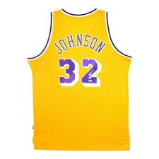 Magic Johnson signed Adidas 1979-90 Los Angeles Lakers Soul Swingman Jersey BAS