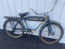 1949 columbia special deluxe tank  bicycle balloon tire springer cruiser atomic