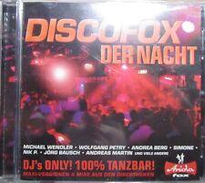Discofox der Nacht / DJ-Hit-Album / 2010 / Jürgens, Petry, uvm. /Neu & OVP