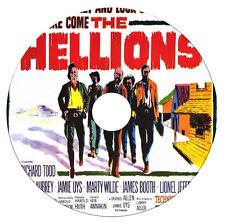 The Hellions - Richard Todd, Anne Aubrey, Lionel Jeffries - Western - DVD - 1961