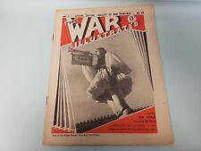 The War Illustrated No. 64 Vol 3 1940 Ajax Greece Roosevelt Hurricane