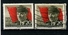DDR_1956 Mi.Nr. 520A Ernst Thälmann 70. Geburtstag