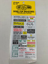 Signs For Industries HO Decals - Blair Line #155 NEW