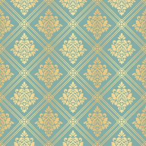 6 SHEETS 20CM X 28CM WALLPAPER 1/24 SCALE printed  on CANVAS cotton dollhouse x3