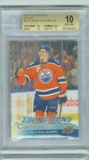 BGS 10 PRISTINE 9.5 UPPER DECK YOUNG GUNS CANVAS JESSE PULJUJARVI RC OILERS