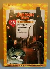 Jurassic Park 1992 Cleo 38 Valentines Day Cards NEW SEALED VTG 90s World