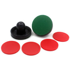 New listing 96//94/64mm Mini Air Hockey Pusher Felt Puck Indoor Table Game Tools Supply Kit