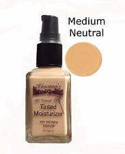 Tinted Moisturizer All Natural Herbal Liquid Foundation - 1oz. Medium Neutral