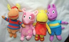 Lot 4 Backyardigans Plush ty 2008 tyrone uniqua tasha austin stuffed toy animal