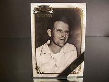 Parallel Bob Flock Press Pass Legends Gold 2009 Card #11 319/399