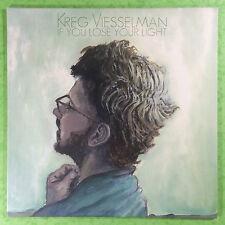 Kreg Viesselman -  If You Lose Your Light - Columbia 886979367616 New Vinyl MINT