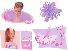 Brewster Barbie (pink, purple) Children's Wallpaper Cut Outs - LK67198C