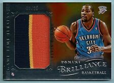 KEVIN DURANT 2012/13 PANINI BRILLIANCE GAME TIME JERSEY PRIME 3 COLOR PATCH /25