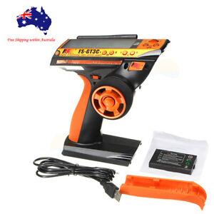 Orange Flysky GT3C 3CH 2.4Ghz Radio Control System LCD Transmitter w/ Receiver