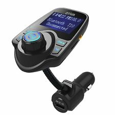 Transmisor FM con Display Cargador Rápido y Manos Libres
