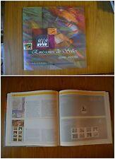 LIBRO FRANCOBOLLI EMISIONES DE SELLOS ESPANA ANDORRA 2002 senza francobolli