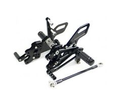 Kawasaki zx10r 11 12 13 14 15 CNC Aluminium Footrest Rear Set XP Black