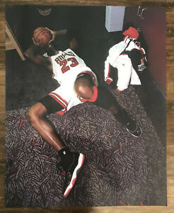 Michael Jordan Chicago Bulls NBA 16x20 Inch Poster Print Music Art