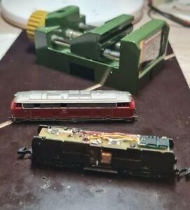 Spur Z Digital Umbauplatine BR 216 (8874/8875) bis BJ 1990