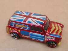 2015 Hot Wheels 67 AUSTIN MINI VAN 27/250 Art Cars LOOSE Red