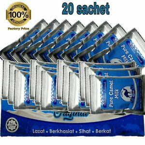 1 x Original  Abu Dhabi Pure Camel Milk Powder Packet Drink (20sachets x 25g)