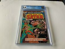 MARVEL SPOTLIGHT 21 CGC 9.4 SON OF SATAN THE DEVIL TAROT MARVEL COMICS 1975