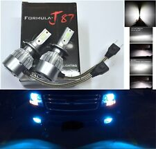 LED Kit C6 72W H7 10000K Blue Two Bulbs Light Turn Cornering Replace Upgrade OE