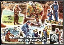 Waterloo 1815 Miniatures 1/72 ITALIAN REGIA AERONAUTICA PILOTS & CREW Figure Set