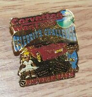Corvettes West 2003 Celebrity Challenge Big Bear Bash Collectible pin **READ**