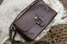 New $168 Jack Georges Voyager Emma Brown Leather Crossbody Handbag