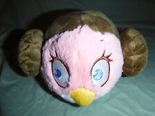 "Angry Birds STAR WARS PRINCESS LEIA 4"" Plush Soft Toy Stuffed Animal"