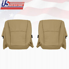 2006 2007 Toyota Highlander Driver/Passenger Bottom Perforated Leather SeatCover